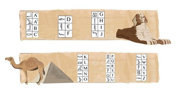 Ebreo, cinese o geroglifici nella tua Escape Room fai da te